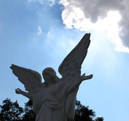 Angel in the sky by ALEXANDRIAAAA