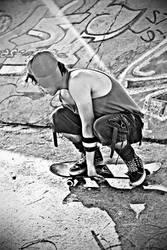 Skater Boy by ALEXANDRIAAAA