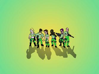 6 characters by bangerbishop