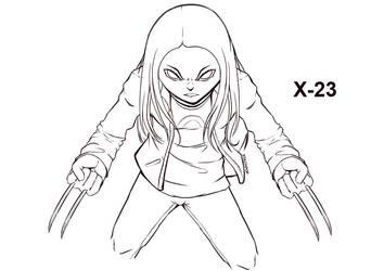 X-23 by Stachpop