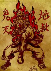 Shin-Oni Akuma by JamalWolfValentineD