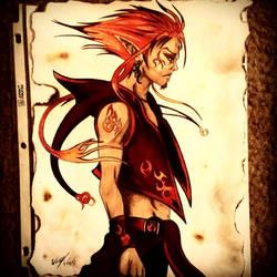 Agni God of Fire by JamalWolfValentineD