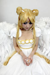 Princess Serenity Cosplay - Sailor Moon Stars by SailorMappy