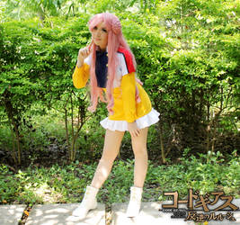 Euphemia Yellow Dress Cosplay Code Geass by SailorMappy