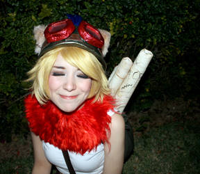 Teemo Face :3 - League of Legends Cosplay by SailorMappy