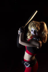 Assault on Arkham Harley - Yahtzee! by SailorMappy