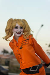 Prisoner Harley Quinn - Assault on Arkham Asylum by SailorMappy