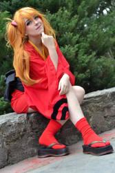 Asuka Langley Yukata Version Cosplay - Evangelion by SailorMappy