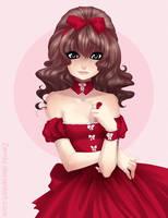 Red dress by zambicandy