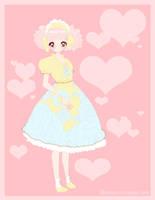 rose dress by zambicandy