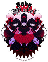 BABYMETAL by zambicandy