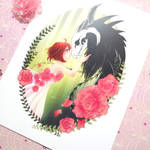 Magus Bride print by zambicandy