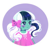 Peppermint Painting by zambicandy
