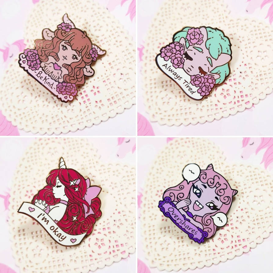New pins are here by zambicandy