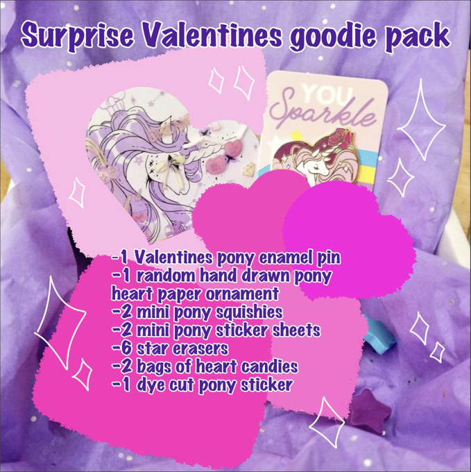 Valentines day surprise pack by zambicandy