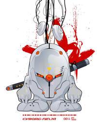 :Submission: Cyborg-Ninja by EggHeadz