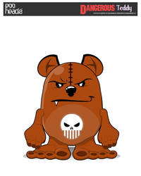 :Submission: Dangerous Teddy by EggHeadz