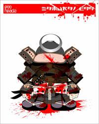 :Submission: Samurai Egg Head by EggHeadz