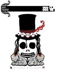 :Submission: Voodoo Hedz by EggHeadz
