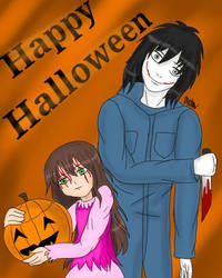 Creepypasta Happy Halloween by AweMellow
