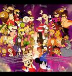 Nintendo vs Disney by xeternalflamebryx
