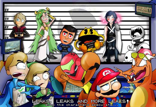 Super Smash Bros- Gematsu and Leaks by xeternalflamebryx