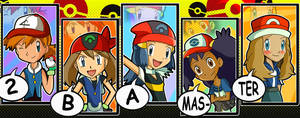 Pokemon Girls- 2BA Master by xeternalflamebryx