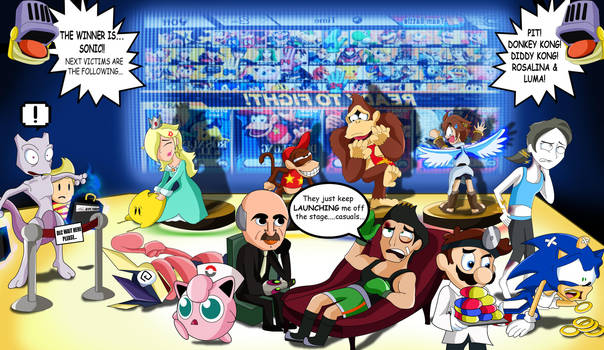 Super Smash Bros 4- Behind the Scenes and Screen by xeternalflamebryx