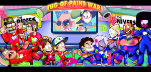 Gravity Falls vs Steven Universe Game Show by xeternalflamebryx