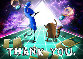 Regular Show- Thank You by xeternalflamebryx