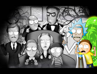 A Rick and Morty Halloween by xeternalflamebryx