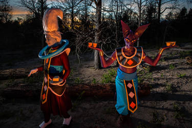 Billz and Whis BOG DragonBall Z Cosplay! by Chex33