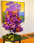 Bouquets to Art 2017 Flower Arrangement 15 by Trisaw1