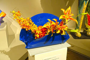 Bouquets to Art 2017 Flower Arrangement 58 by Trisaw1