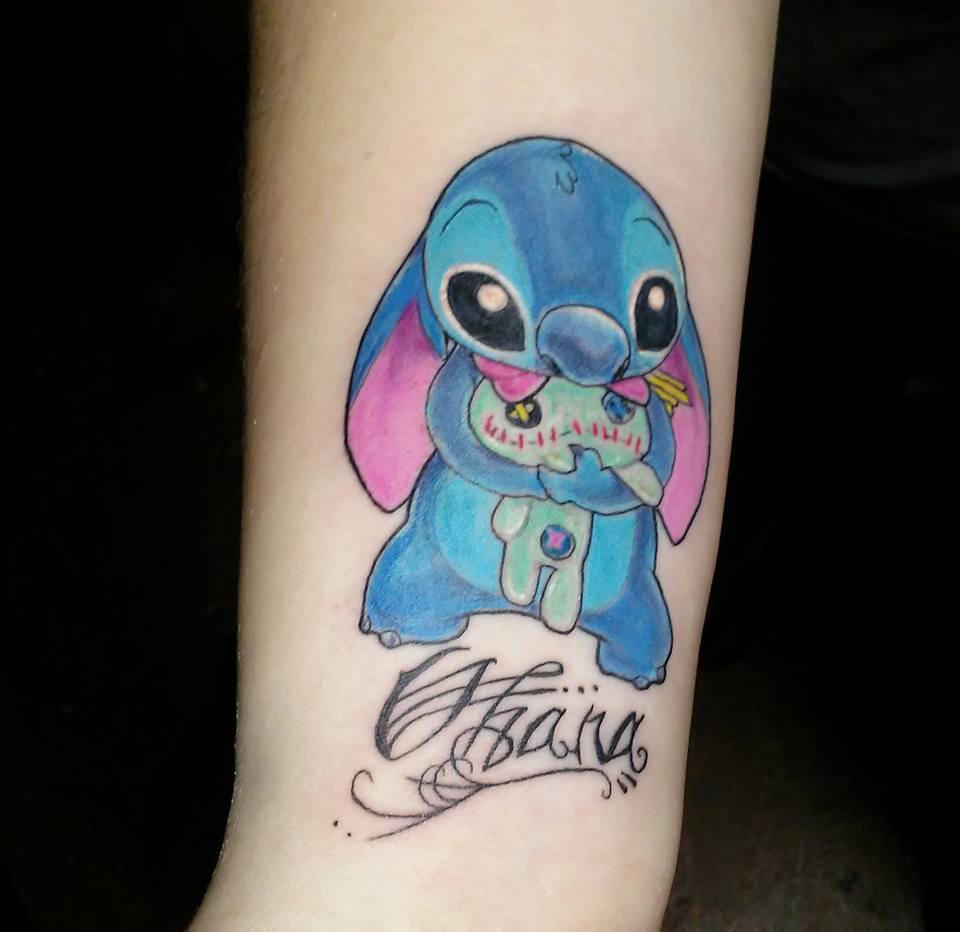 Stitching Tattoo: My Family Stitch Tattoo By Greenmonkey15 On DeviantArt