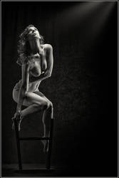 Chair Work in BW by Magicc-Imagery