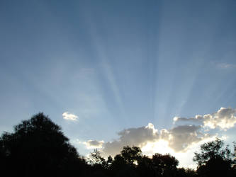 lup-stock _ sun rays by lup-stock