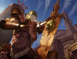 Bloodthirsty Sword by SimonARPalmer