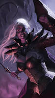 Drow plus whip equals love by SimonARPalmer