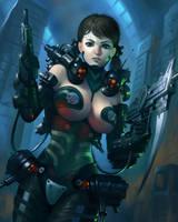 Cyberpunker by SimonARPalmer