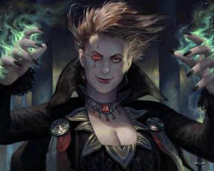 Sorceress by SimonARPalmer