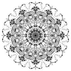 Zentangle Mandala III by Lexa-Wagner