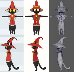 3D Magic Cat by Detrah