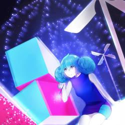 VOCALOID - Hatsune Miku by biyavi
