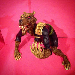 Dredd Werewolf by scowlingmonkey
