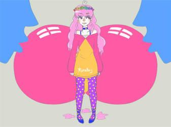Doodle Bubble gum by kurodo-j