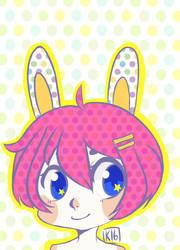 Bunny doodle by kurodo-j