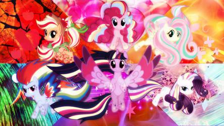 Rainbow Power! by xRandomGurl
