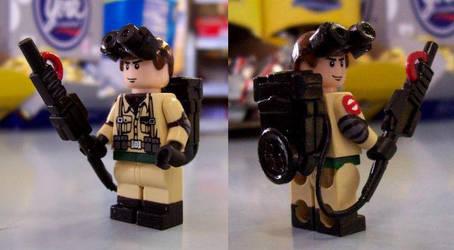 Custom Lego Ghostbuster by Raggletag