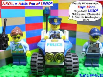 LEGO City Police by takeshimiranda